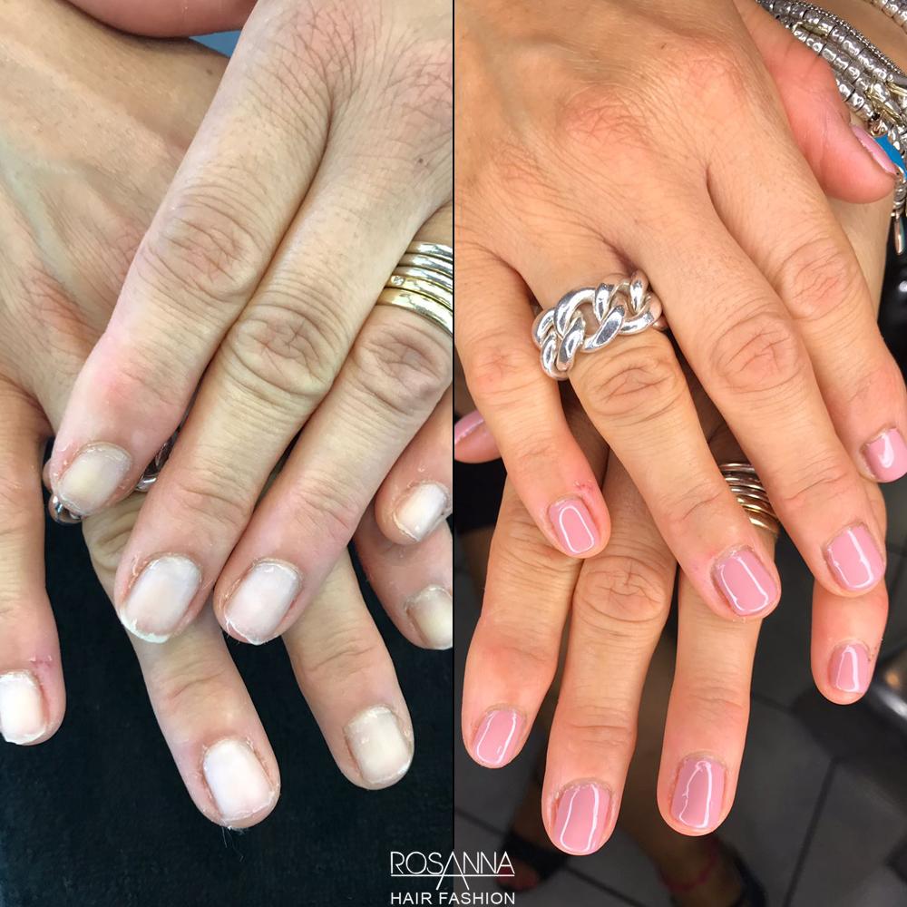 manicure e smalto semipermanente professionale